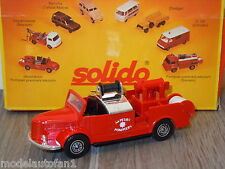 Hotchkiss H.6 G54 Sapeurs Pompiers van Solido 362 France in Box *8336