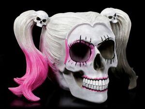 Totenkopf - Little Monster - Gothic Totenschädel Halloween Deko Statue