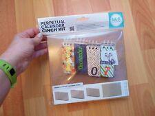 Calendario Perpetuo Kit de arte para su uso con la herramienta de unión Cinch Nuevo