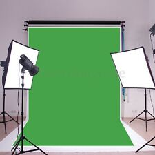 1.5x2.1M 5x7ft Photography Studio Non-woven Background Screen Green Backdrop