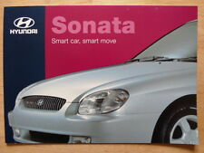 HYUNDAI SONATA 1999 2000 UK Mkt sales brochure