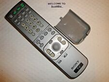 Universial Sony WEGA Tube & Projection TV Remote Subs RM-YD001 RM-Y180 RM-YD007