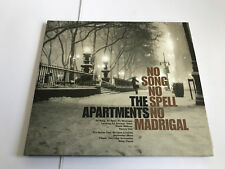 Apartments ‎– No Song No Spell No Madrigal Microcultures ‎CD MINT 3700398713489