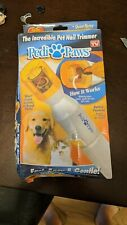 Original Pedi Paws pet nail trimmer.The Incredible Pet Nail Trimmer New, Sealed