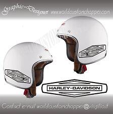 1 ADESIVO DECAL STICKERS  HARLEY DAVIDSON  SERBATOIO-CASCO MOTO