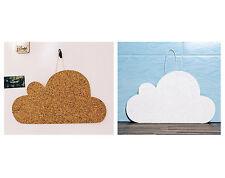 """iCloud"" Cork Memo Notice Board message home office wall pinboard, 7 pins"