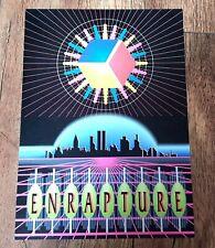 ENRAPTURE Rave Flyer October 1992 Nottingham