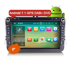 """Erisin ES3715V 8"""" Android 7.1 Car DAB+ GPS Stereo System for VW Passat CC Golf T"""