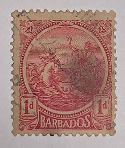 Travelstamps: Barbados Stamps Scott #129 Sg218 Seal of Barbados ' Used NG