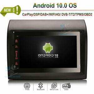 Android 10.0 Head Unit Radio GPS SAT Navi for FIAT DUCATO CITROEN JUMPER PEUGEOT