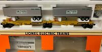 ✅LIONEL SOUTHERN TTUX FLAT CAR SPINE SET 6-16363! INTERMODAL TRAILER TRAIN