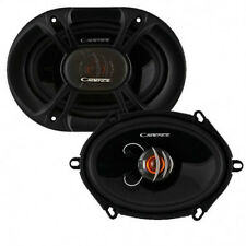NEW (2) 5x7 / 6x8 Car Audio Speakers.Full Range Coaxial Pair.4ohm.PAIR.6x8inch.