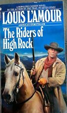 "Book LOUIS LAMOUR ""The RIDERS OF HIGH ROCK"