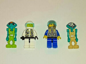 LEGO 4x LIFE ON MARS MINIFIG SPACE LOT #5 space minifigure systems classic