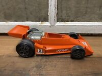 Vintage AJ Foyt Tonka Toy Indy Car Race Car 1979 Old Racing Decor