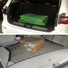 Black Trunk Rear Cargo Organizer Storage Net Elastic Hammock Holder Mesh Kit