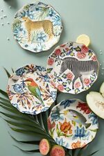 ANTHROPOLOGIE NATURE TABLE PLATE set or single by Lou Rota  NWT
