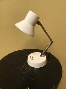 Vintage  MCM Tensor Metal Articulated Desk Lamp Light Works PM700T