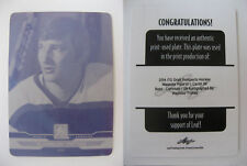 2013-14 ITG Draft Prospects #89 Vladislav Tretiak 1/1 magenta plate 1 of 1 USSR