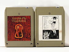 HUMBLE PIE > 2 8-TR tapes < S/T, Thunderbox > VG+ Peter Frampton, Steve Marriot