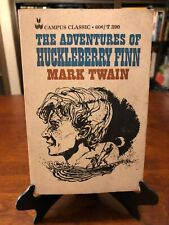 THE ADVENTURES OF HUCKLEBERRY FINN by Mark Twain (CAMPUS CLASSIC - 9th Printing)