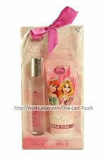 DISNEY PRINCESS 2pc Gift Set ROLL ON PERFUME+BUBBLE BATH Travel Size (Boxed) 1/9