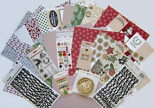 Teresa Collins (CANDY CANE LANE ) Textured Paper & Embellishments  (c) Save 55%