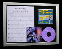 FRANKIE VALLI Big Girls Cry LTD MUSIC CD QUALITY FRAMED DISPLAY+FAST GLOBAL SHIP