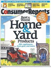 Consumer Reports Magazine May 2011 Mowers Tractors Small Cars Tablet