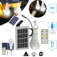 5 Modes 20 COB LED Solar Light USB Rechargeable Energy Outdoor Camping Bulb Lamp