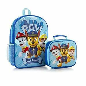 New PAW Patrol Econo Backpack for Boys' with Lunch Bag Kit - 15 Inch