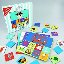 Floss & Rock Bingo Fun Picture Matching Game Blue Stripe Educational Boy Gift