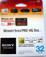Sony Memory Stick PRO-HG Duo 32 GB 32GB Card MSH-X32A MSHX32A MS-HX32A/QK NEW