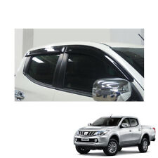 Wind Deflector Weather Shield 4Door for Mitsubishi Pickup L200 Triton 2015 16 17