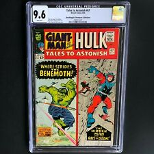 TALES to ASTONISH #67 (1965) 💥 CGC 9.6 💥 ONLY 2 HIGHER GRADED COPIES! Hulk