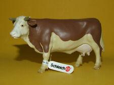Schleich Schleichtier - Cow Kuh Fleckvieh braun/weiß 13134