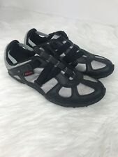 Diesel Womens Moslette Shoes Sneakers Strap Casual Black Grey Size 8.5M