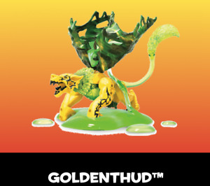 Mega Construx Breakout Beasts Series 5, Identified GOLDENTHUD #59, NEW UNOPENED