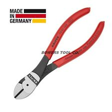 """Knipex 6-1/4"""" Diagonal Cutters High Leverage Cutting Pliers 7401160"""