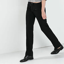 ZARA Black Trousers w/Pockets Hi Waist Woman Authentic BNWT GBP 69.99 S 8209/826