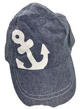 Anchor Toddler 12-18 Months Baseball Ball Cap Hat