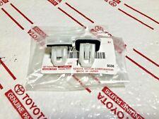 *2 NEW LEXUS FRONT BUMPER SUPPORT WHITE PLASTIC CLIPS BRACKET FENDER CT ES GS HS