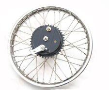 Vintage Rear Half Width Wheel With Brake System Sprocket Stainless Steel Spokes