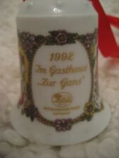 Hutschenreuther Weihnachtsglocke 1992 NEU OVP Limitiert - Christmas Bell Limited