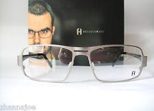Freudenhaus Titanium Large 57-16 Nixon 1 Eyeglass Frames Mens Modernist