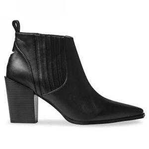 Senso Quora Black Booties - Size 38