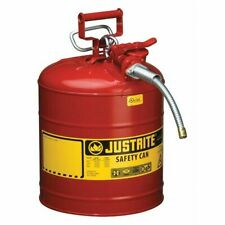 Justrite 7250120 5 gal. Red Steel Type Ii Safety Can for Flammables