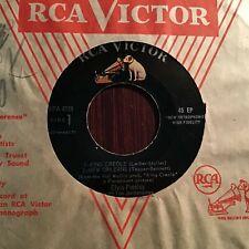 45 RPM Elvis Presley RCA VICTOR EP 4319 King Creole Vol 1  VG+