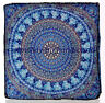 """35""""Large Mandala Tapestry Floor Pillow Cases Decorative Square Box Cushion Cover"""