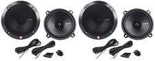 "(2) Pairs Rockford Fosgate R1525X2 5.25"" 2-Way 320 Watt Car Audio Speakers"
